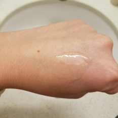 What it looks like when massaged without water