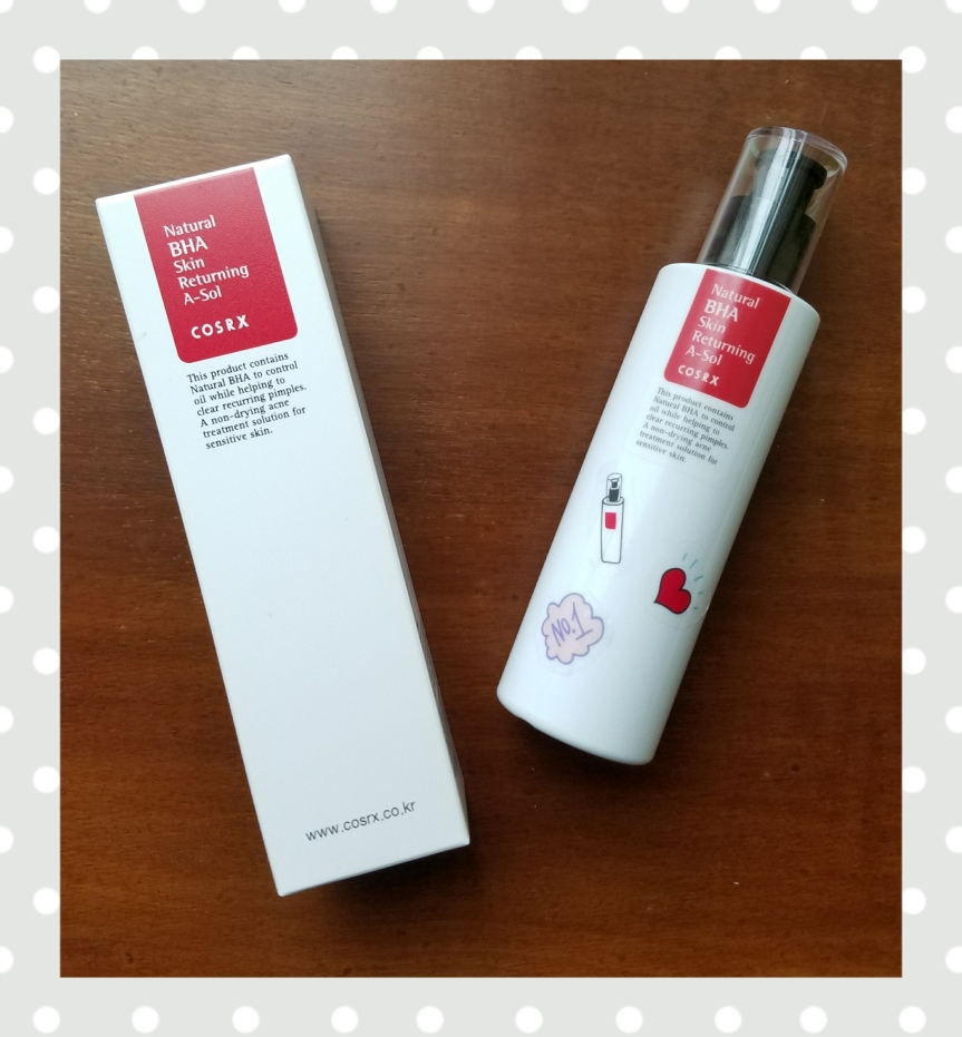 Review: Cosrx Natural BHA Skin Returning A-Sol