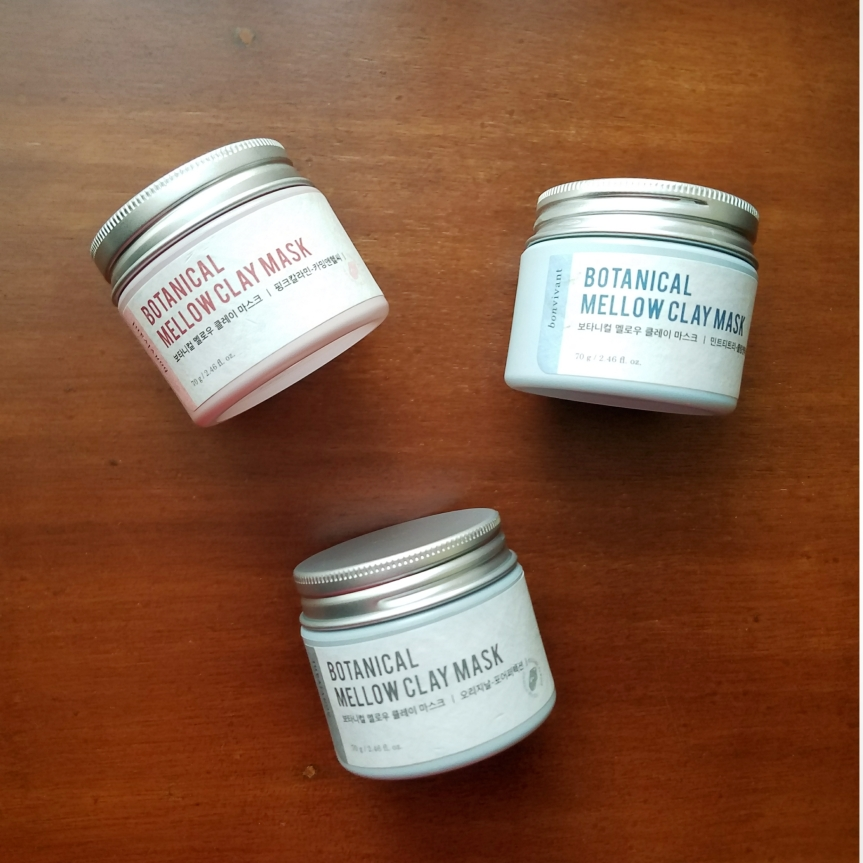 Review: Bonvivant Botanical Mellow Clay Masks