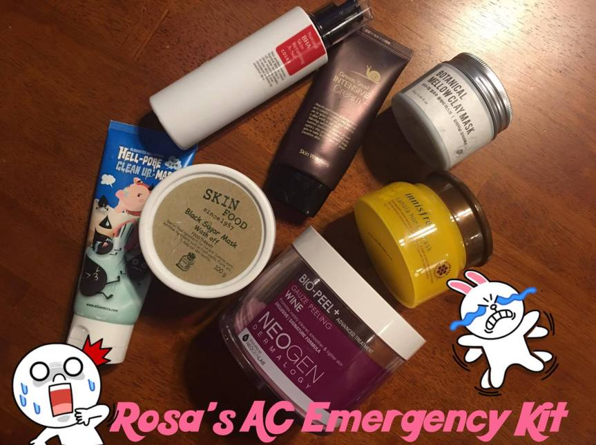 Rosa's Acne Care Emergency Kit