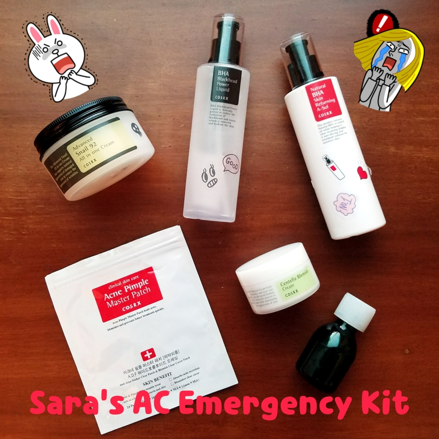 Sara's Acne Care Emergency Kit