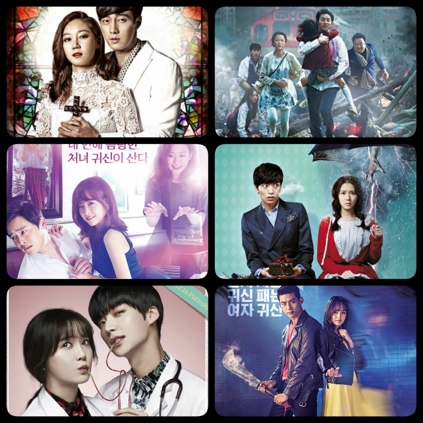 Best Halloween K-Dramas & K-Movies!