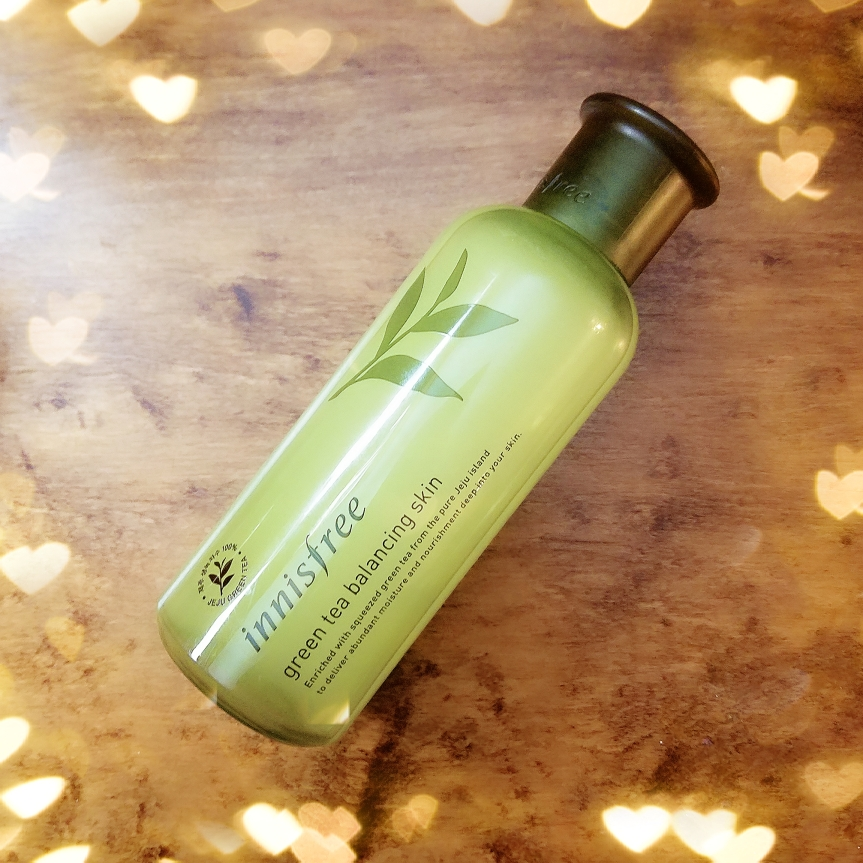 Review: Innisfree Green Tea Balancing Skin