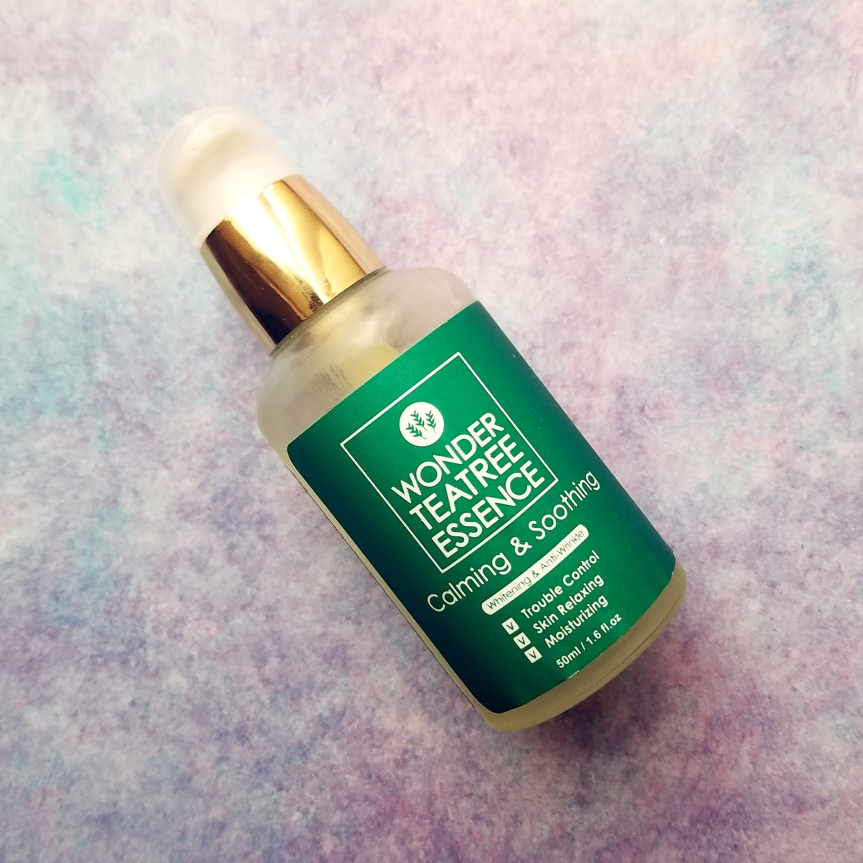 Review: D'Ran Wonder Teatree Essence