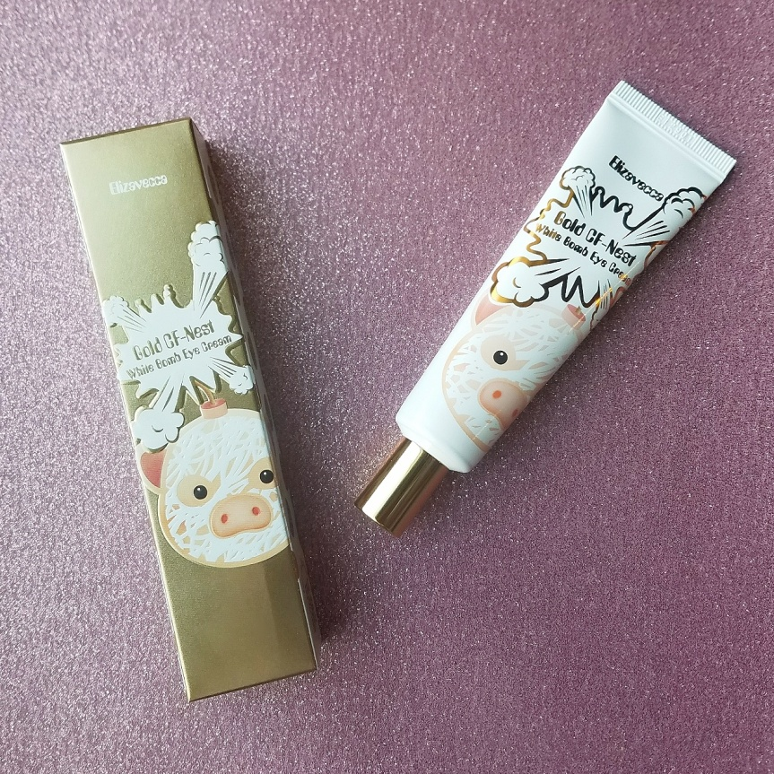 Review: Elizavecca Gold CF-Nest White Bomb Eye Cream