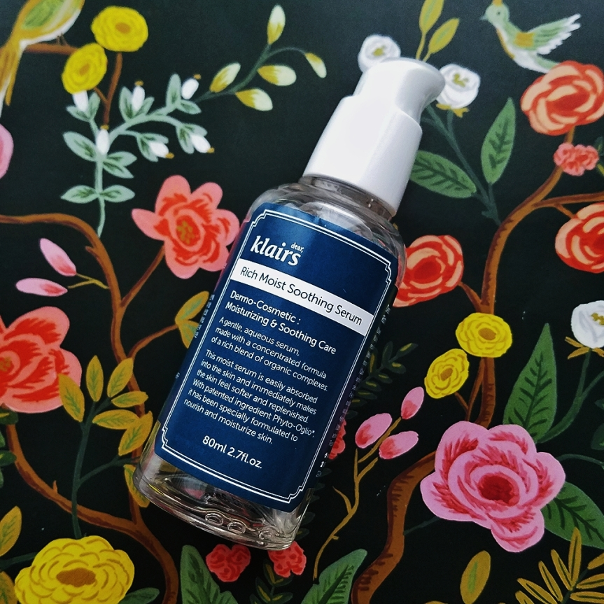 Review: Dear, Klairs Rich Moist Soothing Serum