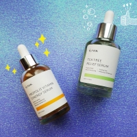 Review: iUNIK Propolis Vitamin Synergy and Tea Tree Relief Serums