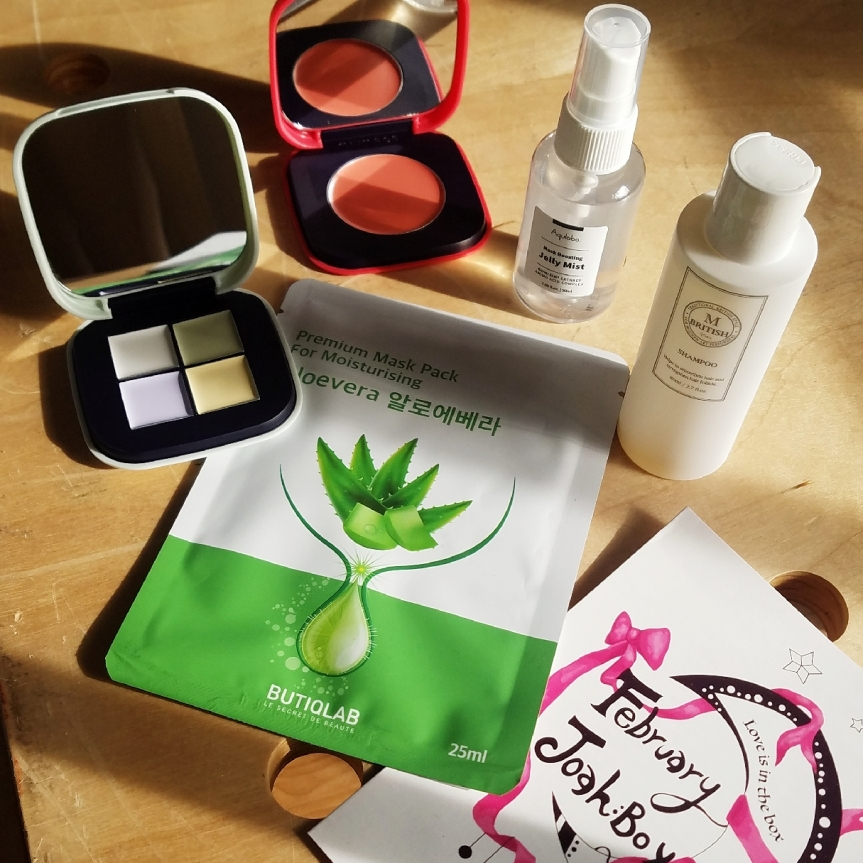 JoahBox K-Beauty Subscription Review- February'19